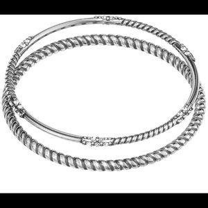 Brighton Neptune's Rings Rope Bangle Set
